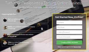 image of the Wealthy Affiliate honest review